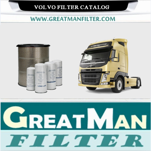 volvo filter catalog-greatman filter factory-china active filtration company