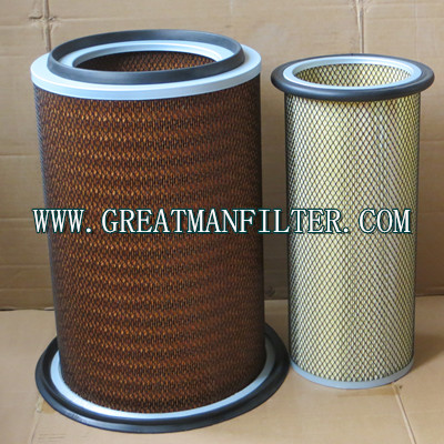 6128-81-7320 6127-81-7412T 6128817320 6127817412T Air Filter